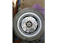Piaggio zip front wheel