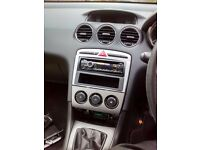 Peugeot 308 aftermarket Sony DAB radio and extras