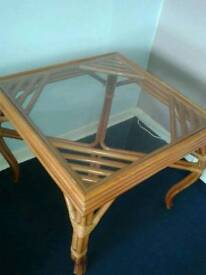 Glass Bamboo Table & more