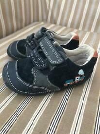 Clarks Baby Boys Shoes Size 4.5F