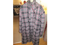 Mens Fleece Dressing Gown 38 Inch Chest