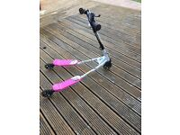 Hardly used tri slider girls scooter. Suitable for age 6+