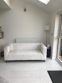 White sofa (ikea Klippan)