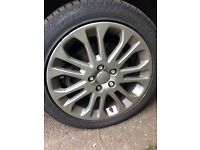 4 STUNNING ALLOYS & TYRES FORD VOLVO AND MORE!!!