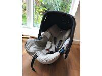 Concord Air car seat (Beige) with newborn insert