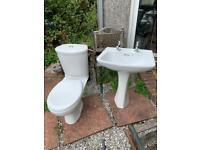 Dual Flush Toilet,Sink & Taps