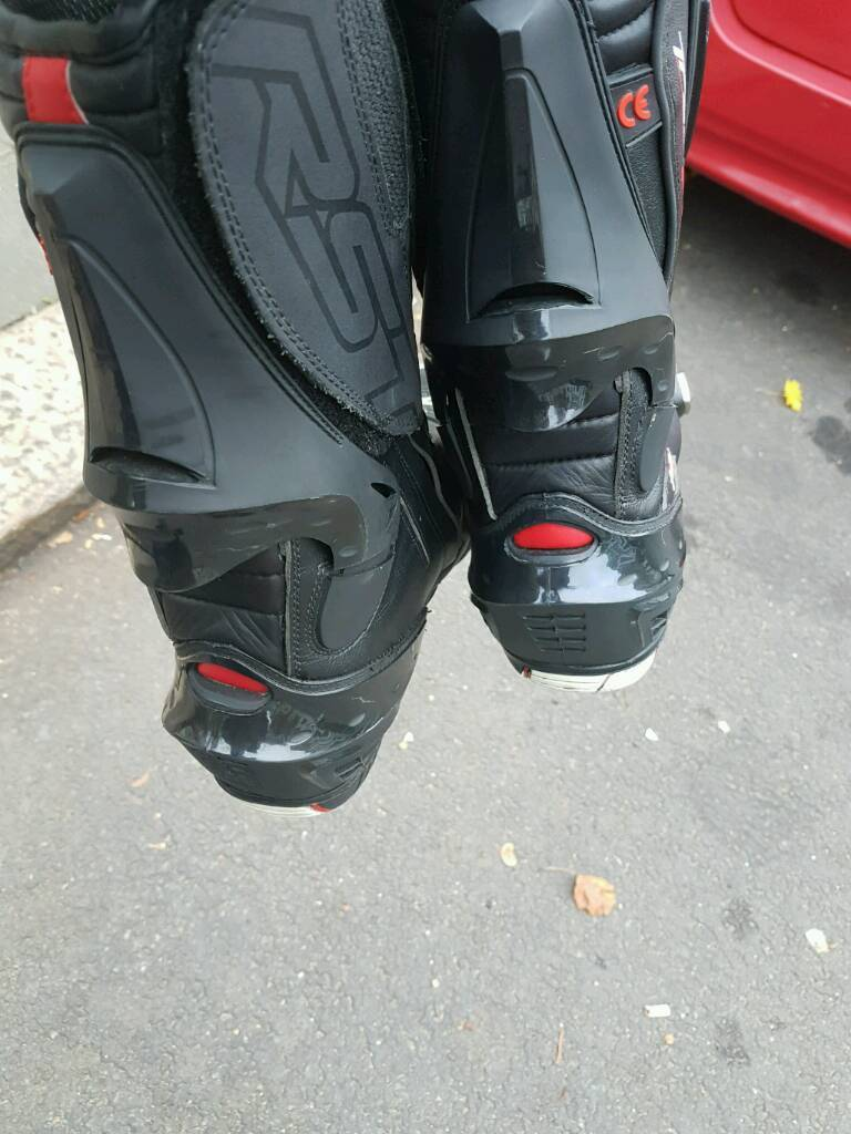 RST motorbike boots size 11