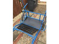 *Reduced* Fully restored and a full paint quick hitch cart