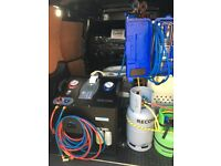 MOBILE CAR AIR CONDITION REGAS SERVICE and ANTI BACTERIAL ULTRASONIC CLEAN
