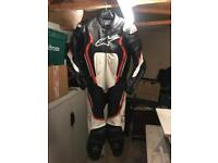 Alpinestars motegi v2 1 piece leathers