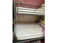 Bunk bed hardly used excellent condition with mattress