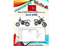 January sale special. Motorini SMR 125, Enduro crosser supermoto style motorbike Brand New *Finance