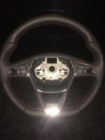 Seat Leon fr steering wheel
