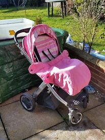 Oyster pushchair 3in1 travel set