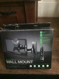 Brand new Dual Arm Wall Mount tv stand RRP £149