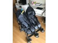 Chico twin stroller