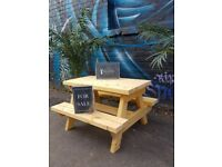 Kids Garden Picnic Tables