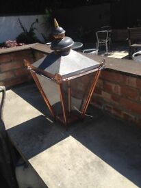 Cast iron Victorian style lampost