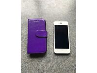 iPhone 5s - silver - 32GB - FREE DELIVERY IN GLASGOW