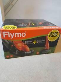 Flymo Easimo + Mini Trim unopened