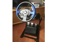 Thrustmaster T150 Pro + GT Omega Stand for PS4