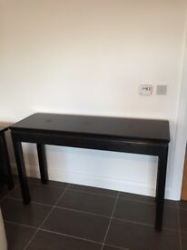 Black console table (Lombok)