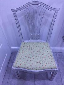 Shabby Chic Annie Sloan Chair