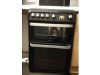 Hotpoint gas cooker (black )
