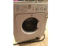 Indesit IWME126UK integrated washing machine 6kg A rated