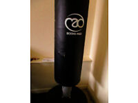 Boxing Mad freestanding punch bag, used condition, boxer kickboxing fitness exercise gym training