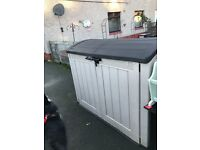 Garden storage box. Fantastic condition.