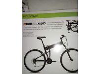 Swiss Bike X50 Folding Mountain Bike