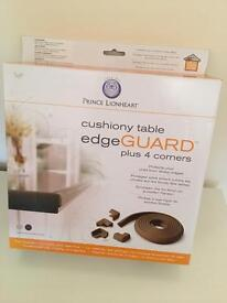 Cushion table edge guard GREY