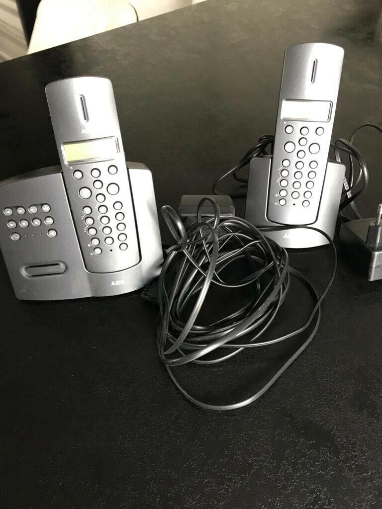 Gigaset C530A Duo Schnurlostelefon - Schwarz, 2 Stück