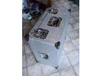 Aluminium flight case Heavy duty 52 x 51 x 28cm