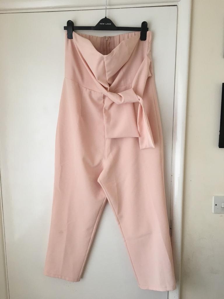 16e896b258f ASOS Dusky pink jumpsuit