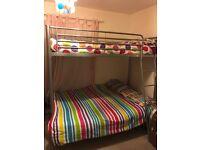 Triple bunk bed £60