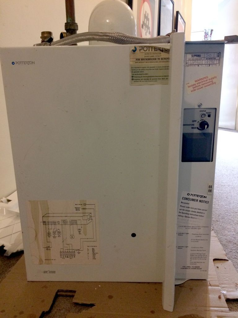 Potterton Suprima 50 Gas Boiler Fully Working Incl