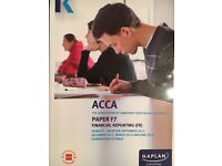 F7 ACCA kaplan exam kit