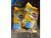 Pedigree Vital Puppy Junior 2/15 month 10kg £10 two bags available also other dry dog food