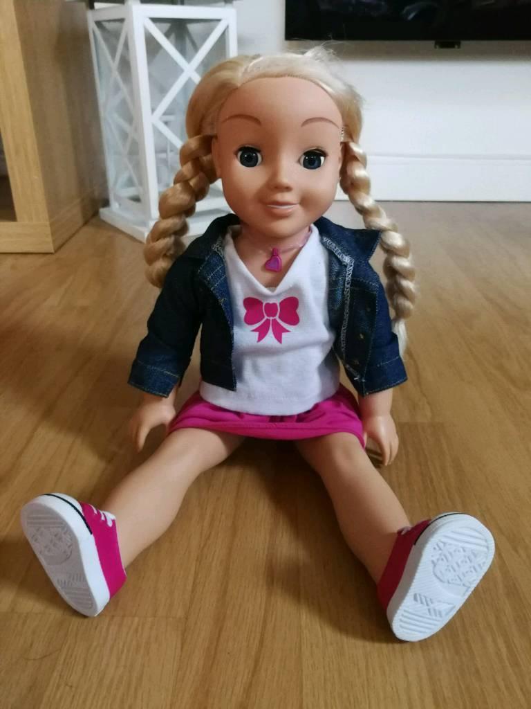 My friend kayla interactive doll