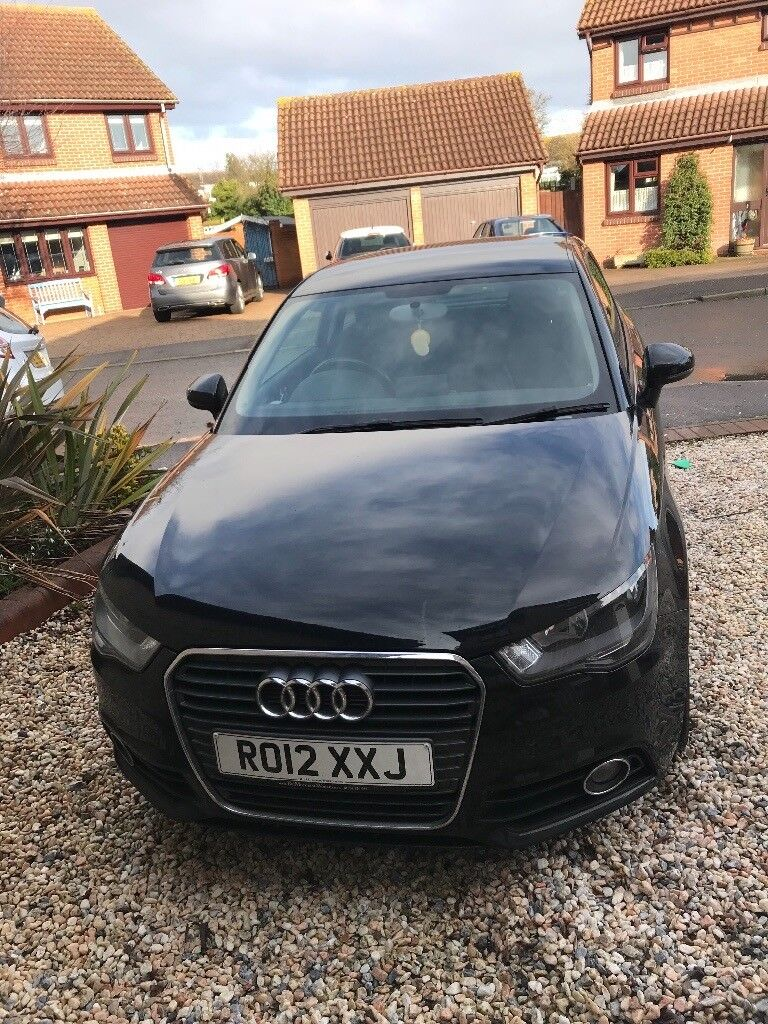 Black Audi A1 2012 plate for sale good condition.