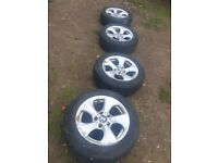 BMW tyres