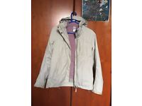 Quecha Women's Rain Jacket (Size Small)