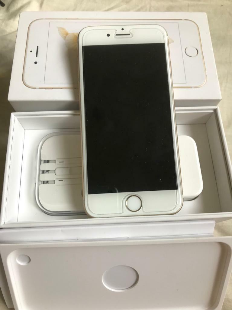 iPhone 6s gold 16gb locked to o2 mint condition