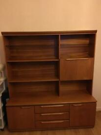 Light up wall unit. Good condition. FREE - Pick up only!