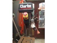 Clarke metalworker floor standing pillar drive