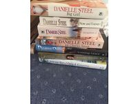 Danielle Steele books from 50p-£1 many never read.