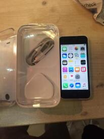iPhone 5C 32GB on o2, Tesco and giffgaff. We can deliver
