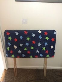 Child's single headboards x2